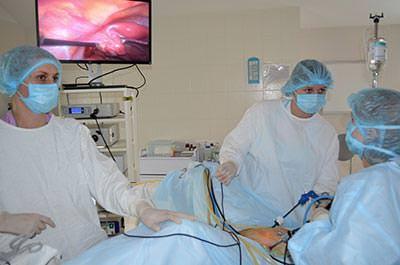Операция на кисту яичника цена